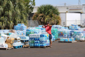 Hurricane Maria water collection