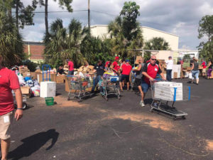 Hurricane Maria food drive