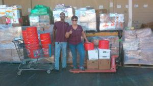 Hurricane Maria Food Collection