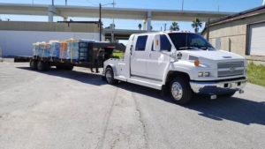 Hurricane Maria food Transport