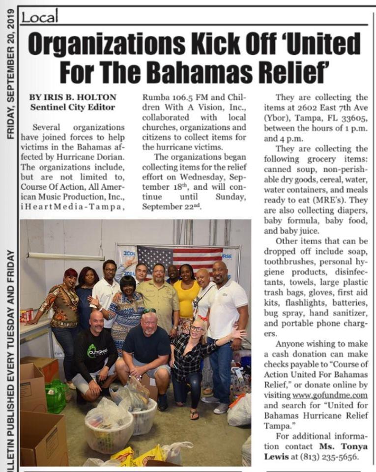 Bhamas Relief